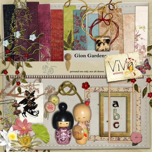 Viva Artistry - Gion garden kit